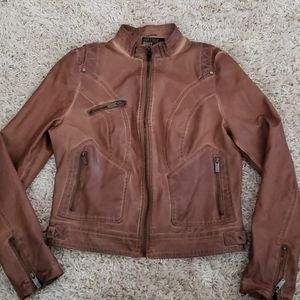 William Rast Vegan Leather Ladies Jacket size smal